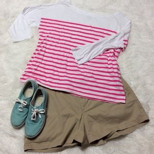 OLD NAVY RELAXED FIT 3/4 SLEEVE TEE/TOP